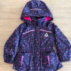 Peplum Winter Coat